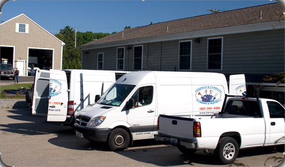 Stedman & Company have the people and equipment to get your plumbing / heating job completed in RI